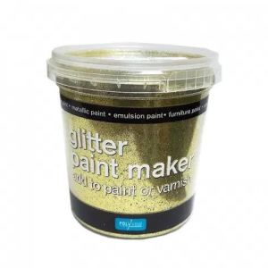 Glitter paint maker Goud