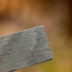 Muurverf Ozul stoer donker warm grijs tester