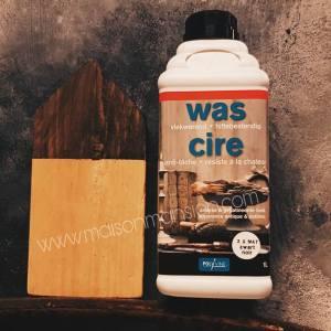 Verniswas Zwart extra mat 1 liter Polyvine