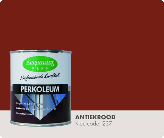 perkoleum dekkend antiekrood maisonmansion