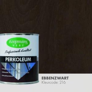 Perkoleum transparant Ebbenzwart 750 ml