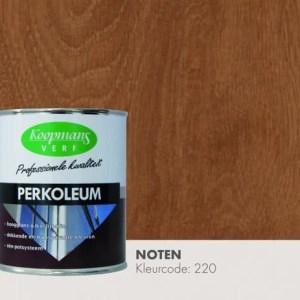 Perkoleum transparant Noten 750 ml