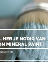 hoeveel fusion mineral paint heb ik nodig, fusion, fusion mineral paint, maisonmansion