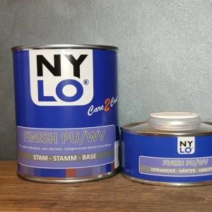 Tweecomponenten zijdemat coating