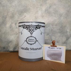 Fresh Lila Metallic muurverf 1 liter Maisonmansion
