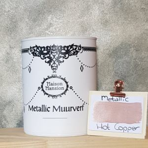 Metallic muurverf Hot Copper 1 liter