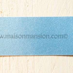 Metallic muurverf Ocean Blue 1 liter Maisonmansion