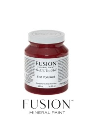Fusion Mineral Paint Fort York Red 500 ml