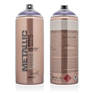 Montana Metallic Spuitbus Plum 400 ml