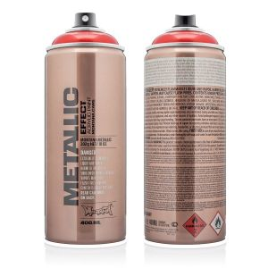 Montana Metallic Spuitbus Red 400 ml