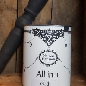 All in 1 verf MaisonMansion 1 liter Goth