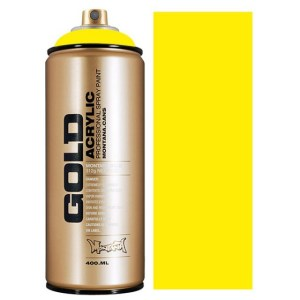 Montana Gold spuitbus 100% Yellow 400 ml
