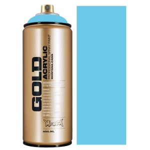 Montana Gold spuitbus Baby Blue 400 ml