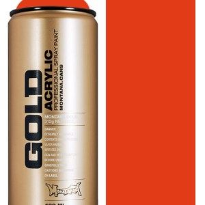 Montana Gold spuitbus Red Orange 400 ml