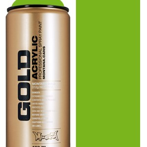 Shock Green Light Montana Gold spuitbus 400 ml