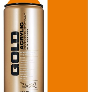 Shock Orange Light Montana spuitbus 400 ml