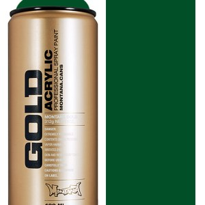Montana Gold spuitbus Smaragd Green 400 ml