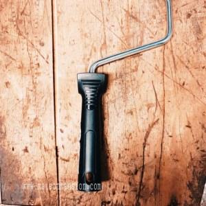 Losse beugel zwart 18 cm