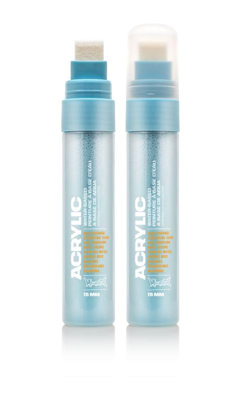 Montana Acrylic Marker Shock Blue Light 15 mm