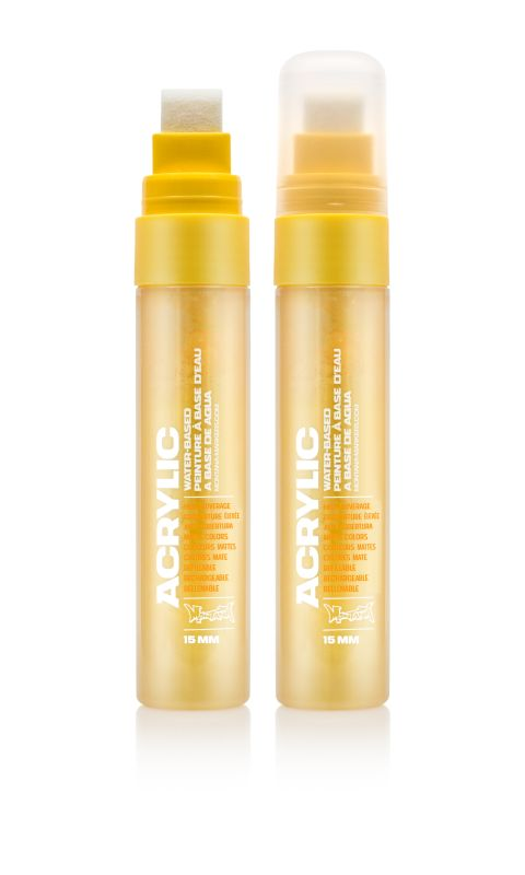 Montana Acrylic Marker Shock Yellow Light 15 mm