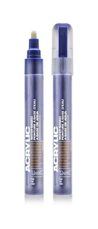 Montana Acrylic Marker Shock Blue Dark 2 mm