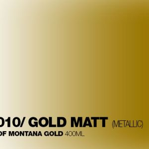 Montana Acrylic Marker Gold mat 15 mm