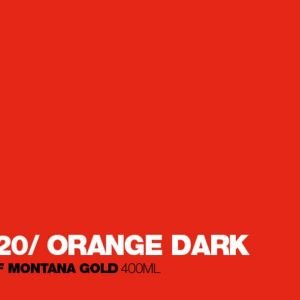 Montana Acrylic Marker Shock Orange Dark 15 mm