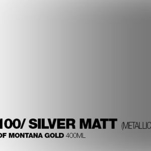 Montana Refill Silver Mat 25 ml
