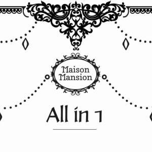 All in 1 verf MaisonMansion 1 liter Aurora