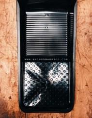 verfbak zwart klein 15x32 cm