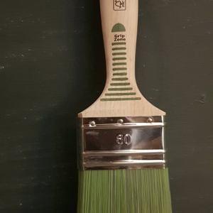 Groene Vernis 60 mm beits kwast FSC keurmerk