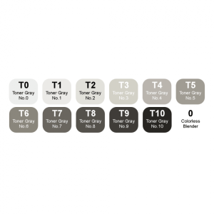 Montana Alpha marker set 12 – toner grey