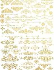 Transfer Giled Ornate van Redesign met goud