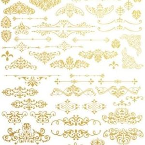 Transfer  Gilded Ornate Flourishes Redesign