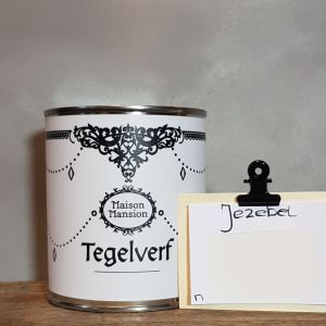 Tegelverf  Jezebel  wit 500 ml