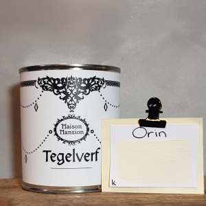 Tegelverf Orin 500 ml Maisonmansion