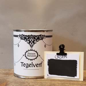 Tegelverf  Goth 500 ml Maisonmansion