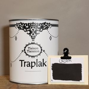 Traplak MaisonMansion Goth intens zwart