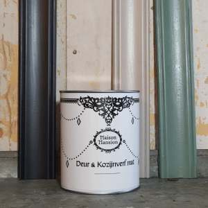 Deur & Kozijnverf Eigen kleur gemixed in 1 liter Maisonmansion