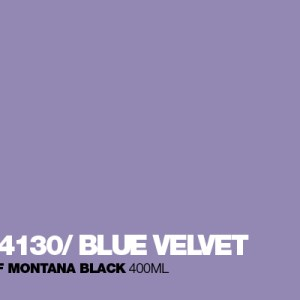 Blue Velvet Montana Black spuitbus 400 ml