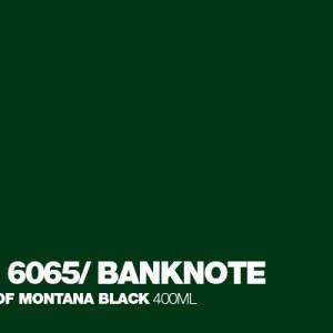 Banknote Montana Black spuitbus 400 ml