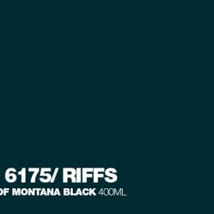 Riffs Montana Black spuitbus 400 ml
