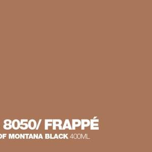 Frappé Montana Black spuitbus 400 ml