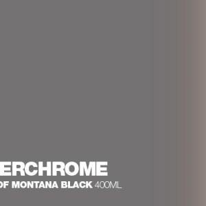 Silverchrome Montana Black spuitbus 400 ml