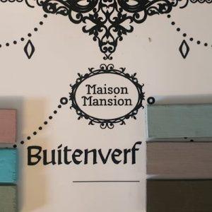 Buitenverf Eigen Kleur Gemixed in 1 liter Maisonmansion