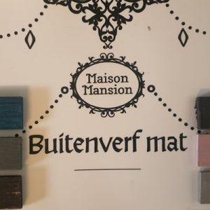Buitenverf Eigen Kleur Gemixed in 2.5 liter Maisonmansion