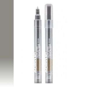 Montana Acrylic Marker Outline Silver 0,7 mm