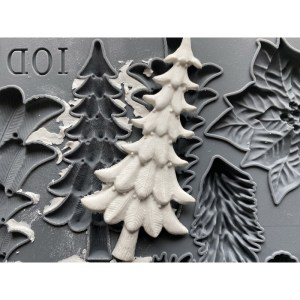 Boughs of Holly IOD mould Herfst collectie 2020