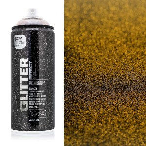 Glitter effect spuitbus Dusty Gold Montana