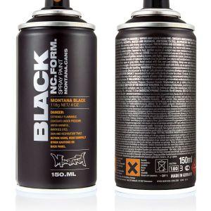 Black Montana Black Mat Spuitbus 150ml